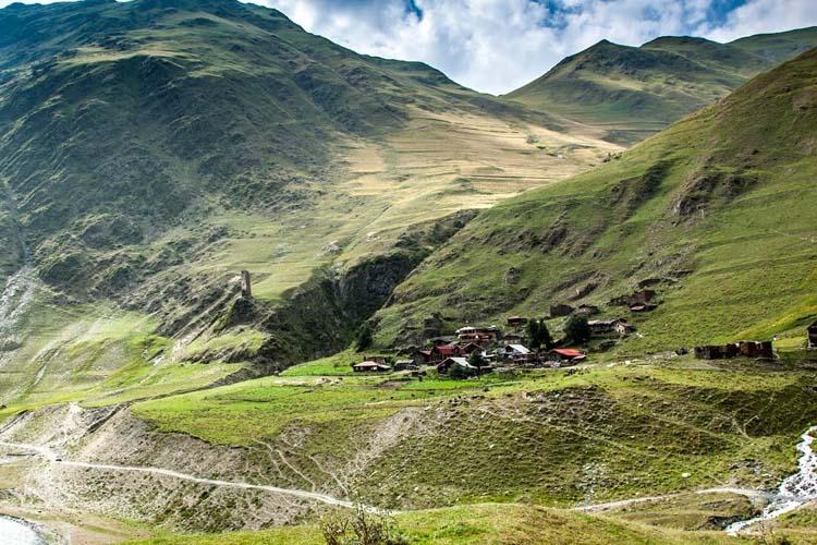 Village Chesho, Tusheti