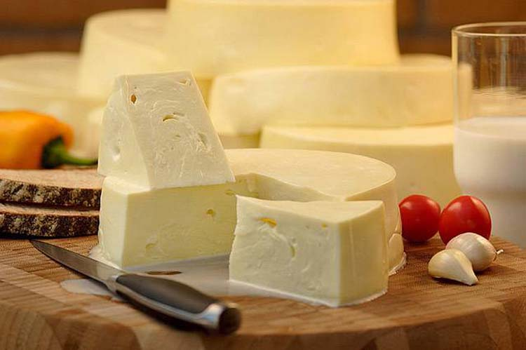 Georgian Cheese Sulguni